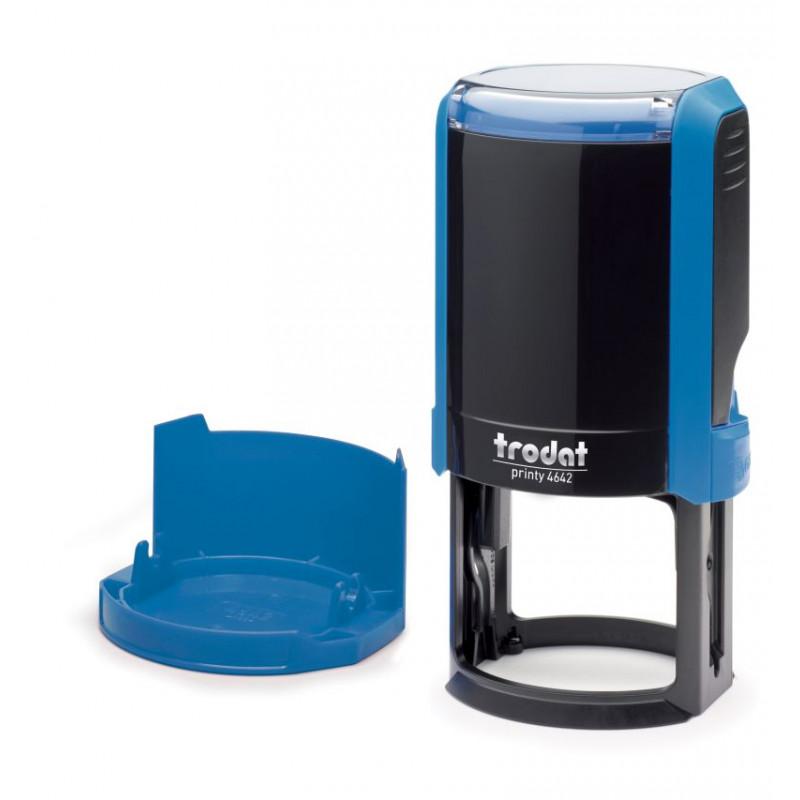 Оснастка для круглой печати автоматическая Trodat4642 Цвет Синий ДиаметрD42 мм