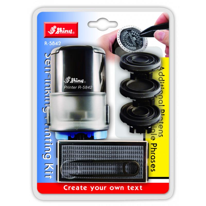 Оснастка для самонаборной печати Shiny R-5842