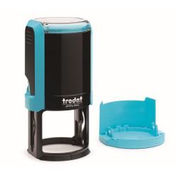 Оснастка для круглой печати автоматическая Trodat4642 Цвет Голубой ДиаметрD42 мм