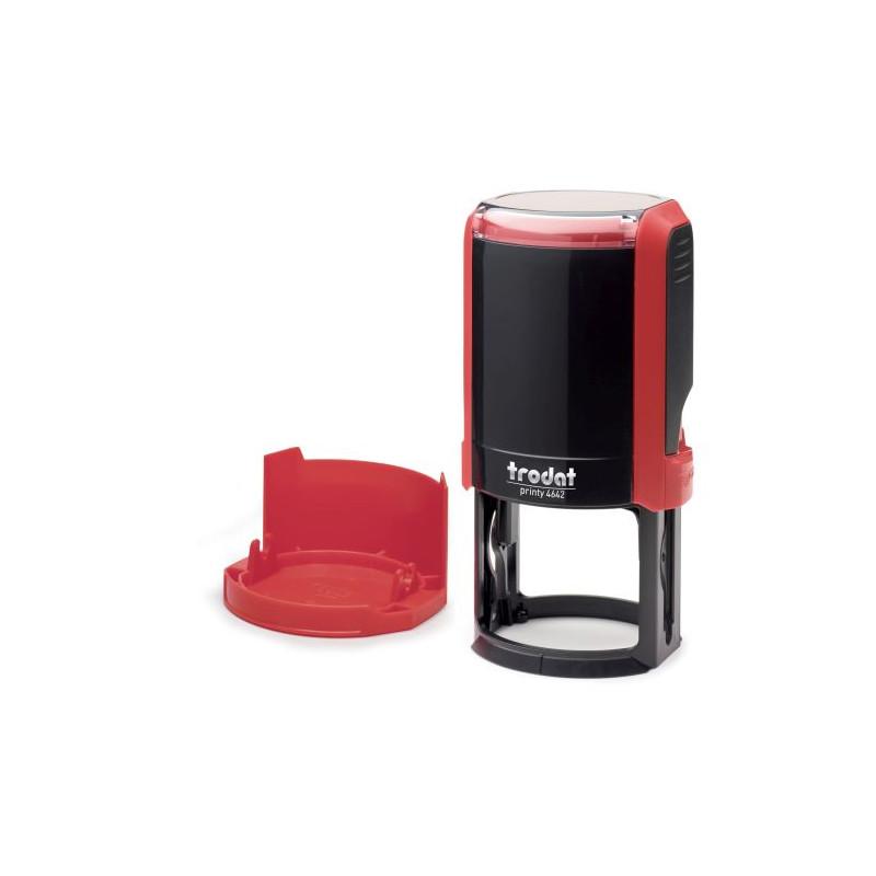 Изготовление печати на автоматической оснастке цвет красный